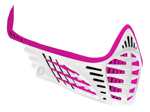 Virtue VIO Facemask - White/White/Pink
