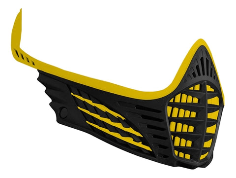Virtue VIO Facemask - Yellow/Yellow/Black