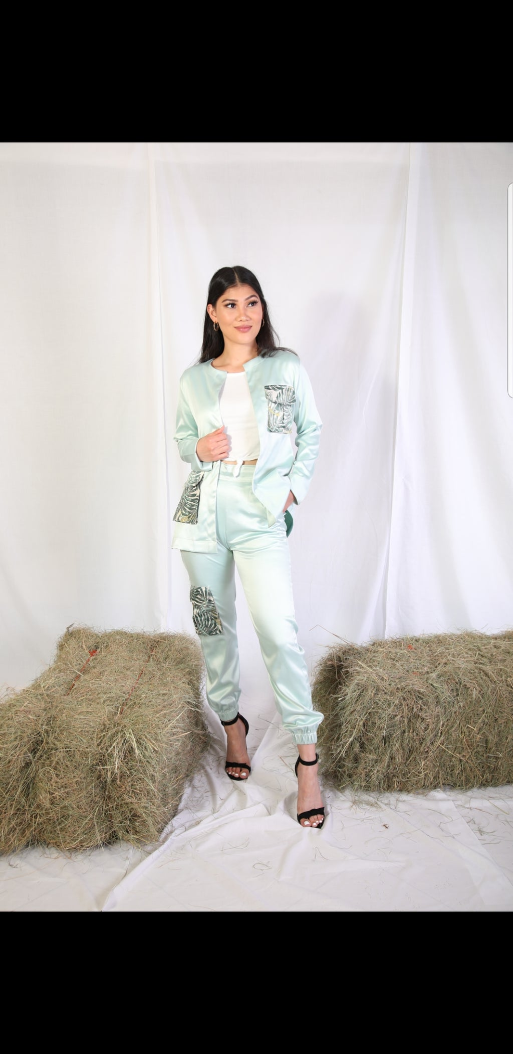 Sass Suit (mint)