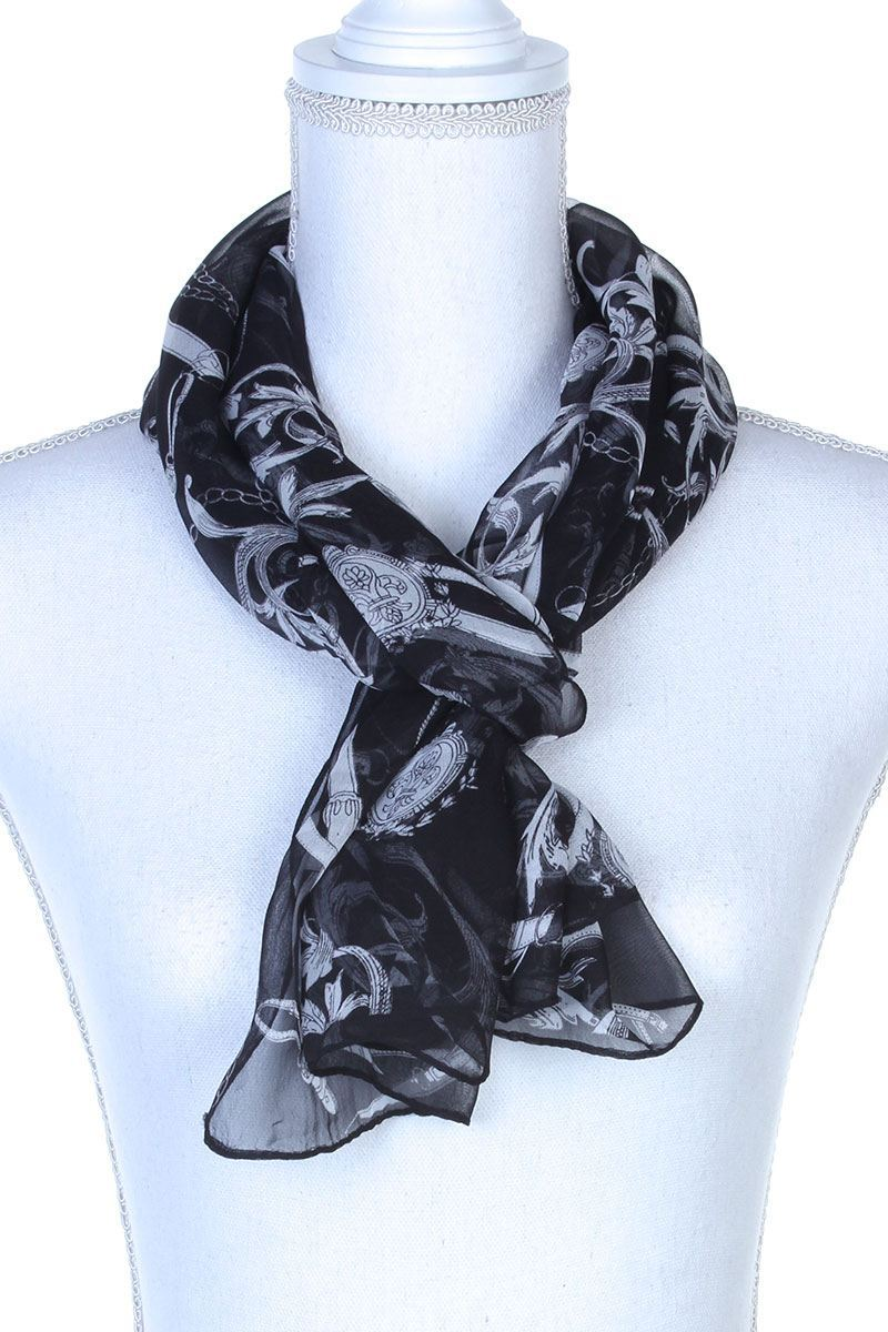 Sheer Oblong Scarf