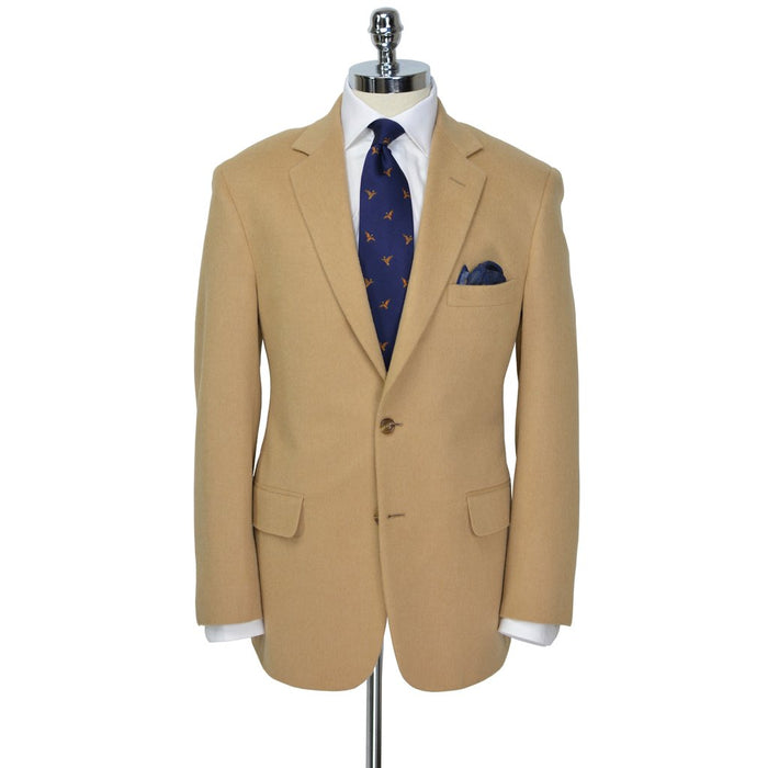 Camel  Camel Hair SportCoat - Miguel's Men's Wear