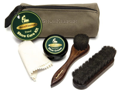 Travel Shoe Care Kit - Miguel's Men's Wear