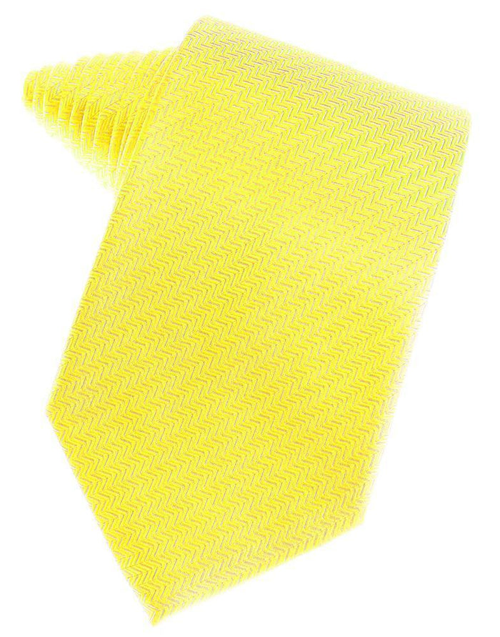 Sunbeam Herringbone Necktie - Miguel's Men's Wear