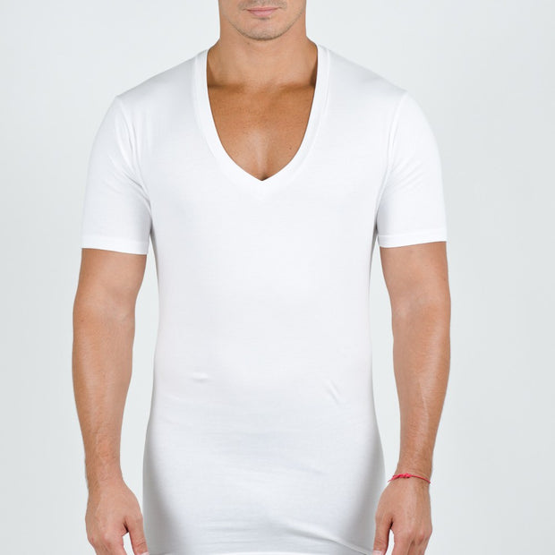 V-Neck Two-pack Undershirts - Miguel's Men's Wear