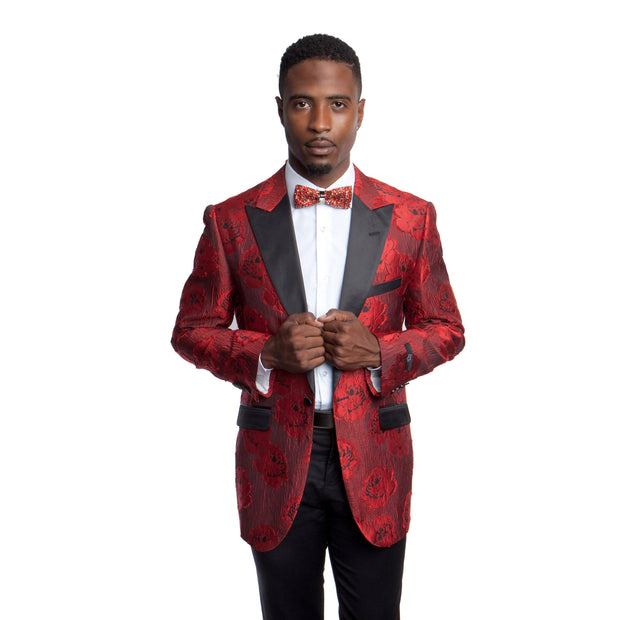 Rose Red 1B Peak Jacket - Miguel's Men's Wear