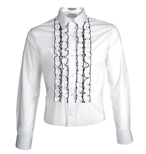 RUFFLE SHIRT - SLIM FIT - Miguel's Men's Wear