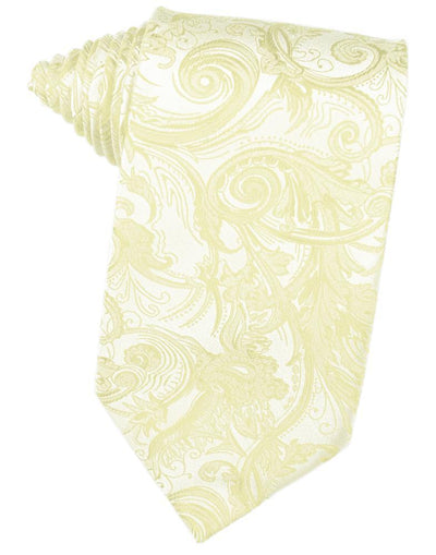 Canary Tapestry Necktie - Miguel's Men's Wear