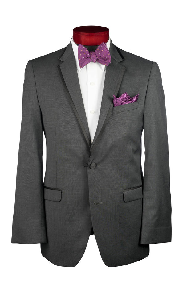 GRANITE GREY 'BRUNSWICK' TUXEDO - Miguel's Men's Wear
