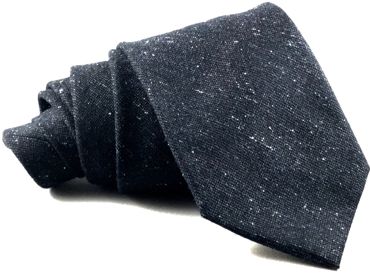 Grey Flannel Wool Tie - Miguel's Men's Wear
