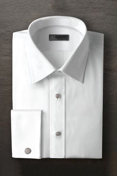 White Laydown Formal Shirt