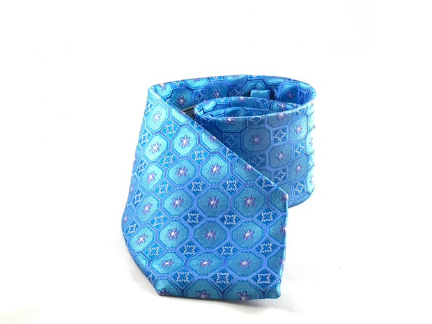 Blue Medallion Woven - Miguel's Men's Wear