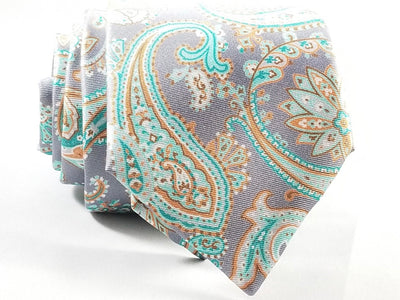 MDS Italian Silk Tie 15567-4 - Miguel's Men's Wear