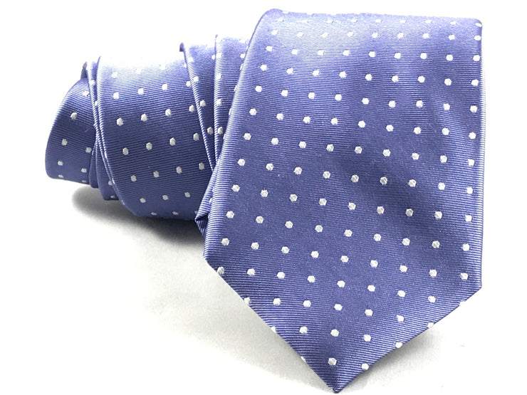 Purple Dotted Tie - Miguel's Men's Wear