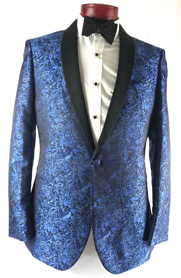 Blue Aries Paisley - Miguel's Men's Wear