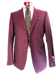 DAB219394 Burgundy - Miguel's Men's Wear