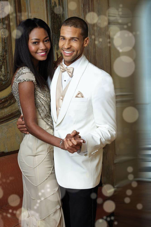 Light Ivory Dinner Jacket - Miguel's Men's Wear