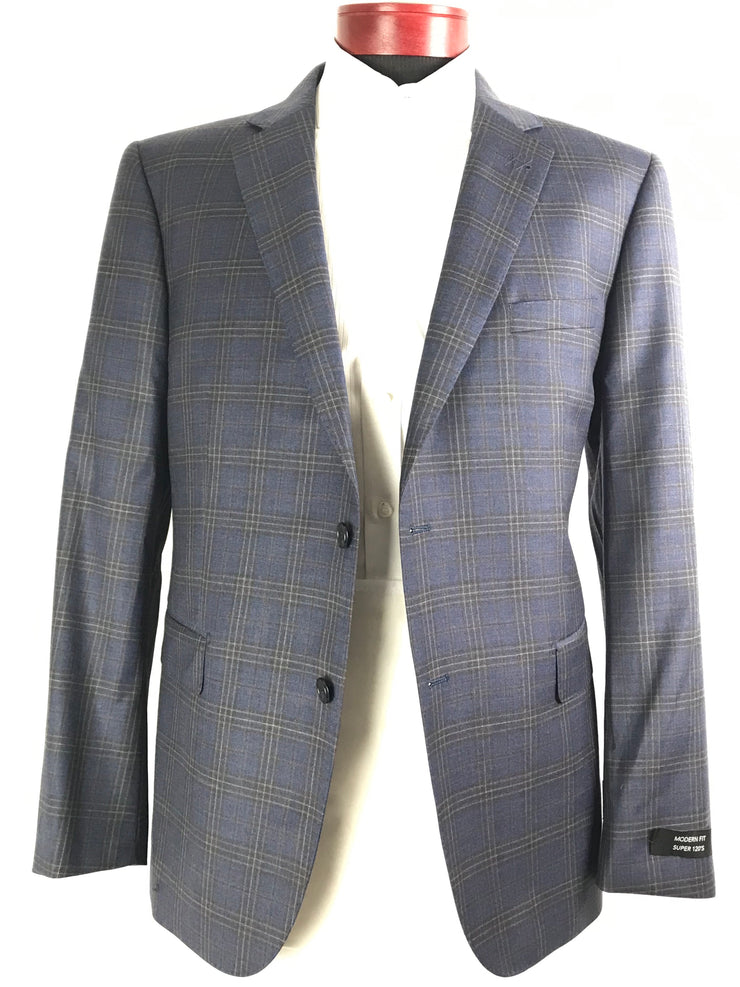 DAB 119986 Blue Plaid - Miguel's Men's Wear