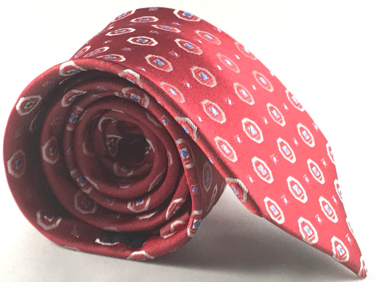 Red Neat Tie - Miguel's Men's Wear
