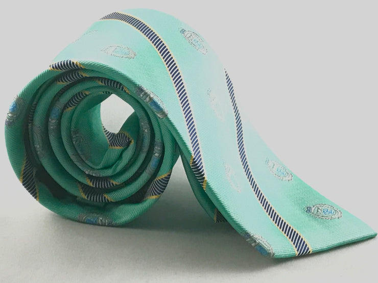Seafoam Green Club Tie - Miguel's Men's Wear