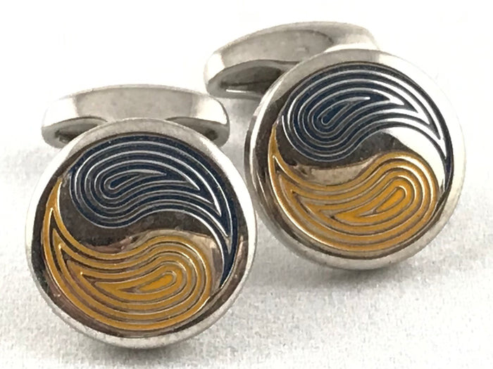 Bellizona Ying Yang Cufflinks - Miguel's Men's Wear