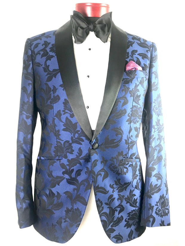Floral Cobalt Blue - Miguel's Men's Wear