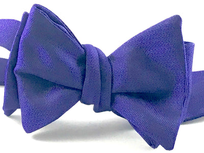 Purple Solid Bowtie - Miguel's Men's Wear