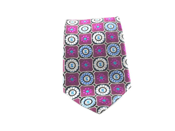 Purple Medallion Woven - Miguel's Men's Wear