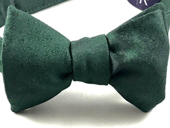 Green Jacquard Bowtie - Miguel's Men's Wear