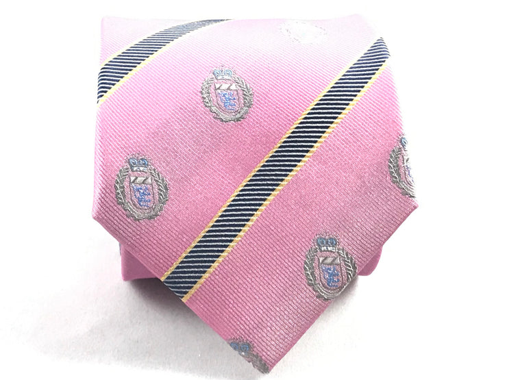 Pink Club Tie - Miguel's Men's Wear