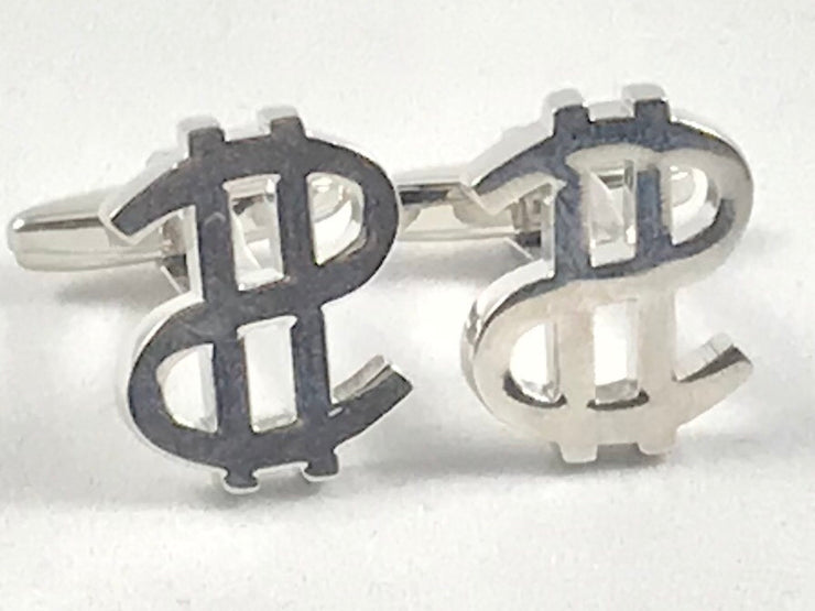 Dollar Sign Novelty Cufflinks - Miguel's Men's Wear