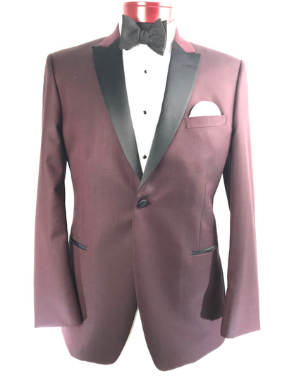 JF 201 Burgundy - Miguel's Men's Wear