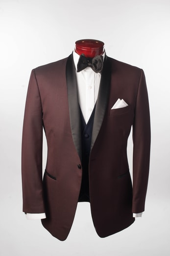 CAMDEN BURGUNDY - Miguel's Men's Wear