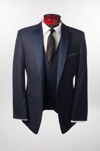 NAVY BLUE SEBASTIAN - Miguel's Men's Wear