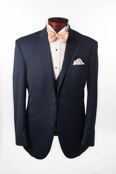NAVY STERLING WEDDING SUIT - Miguel's Men's Wear