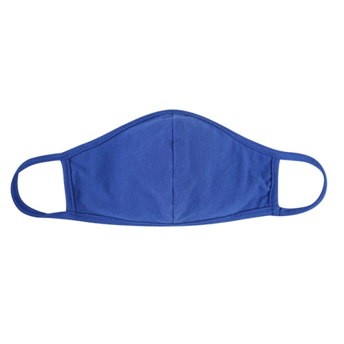 Cobalt Plain Face Masks For Kids