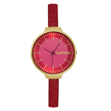 RumbaTime-Watches-Orchard Leather Merlot