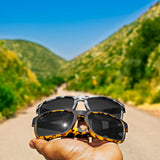 Canyon // Seismic Jolt Polarized Sunglasses