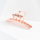 Rose Gold Bar Claw Clip・Rose Gold