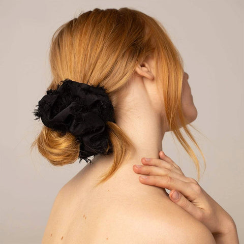 Brunch Scrunchie・Frayed