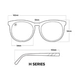 Blenders Eyewear-Accessories-H Series // Alumni Queen Sunglasses