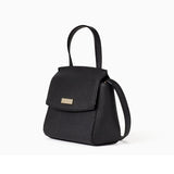 Kate Spade-Handbags-Laurel Way Mini Alisanne Crossbody, Black