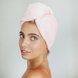 KITSCH-HAIR ACC-Microfiber Hair Towel - Blush