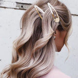 KITSCH-HAIR ACC-XL Snap Clips Set - Rose Gold