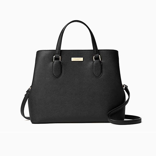 Kate Spade-Handbags-Laurel Way Evangelie Crossbody, Black