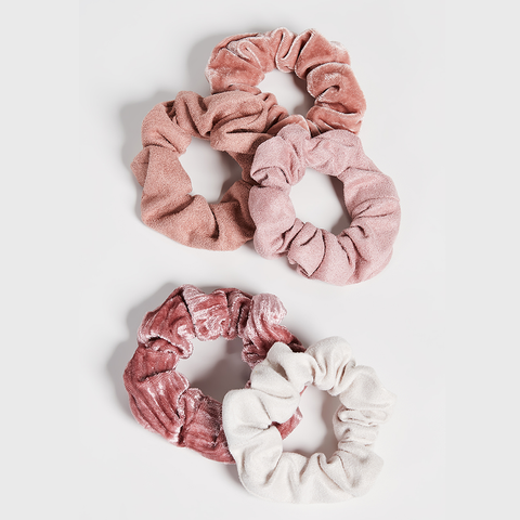 Velvet Scrunchies・Blush/Mauve
