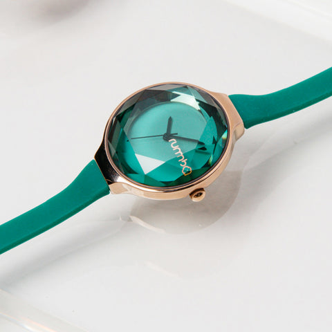 Orchard Gem Watch - Emerald