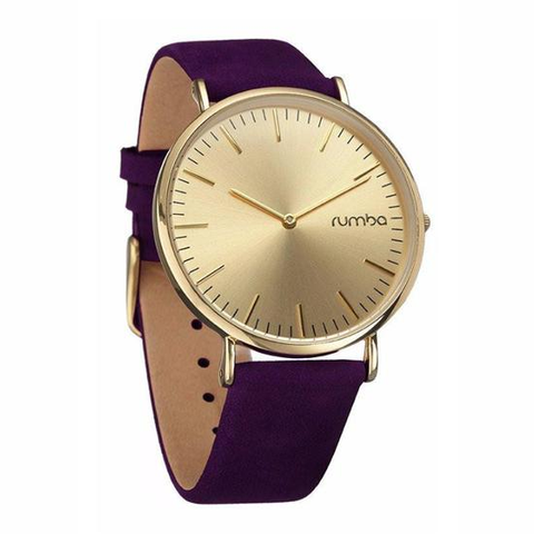 RumbaTime-Watches-Soho Suede Plum