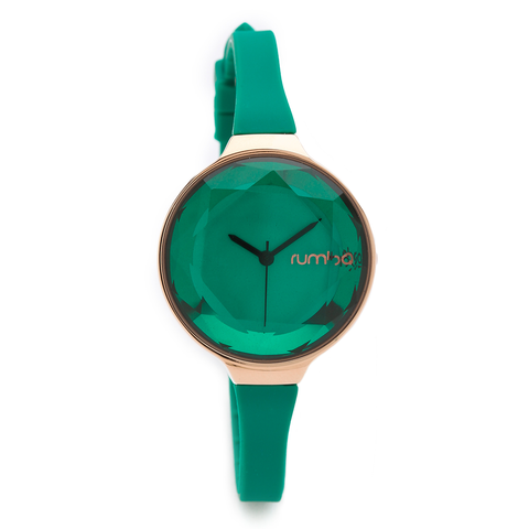 RumbaTime-Watches-Orchard Gem Watch - Emerald
