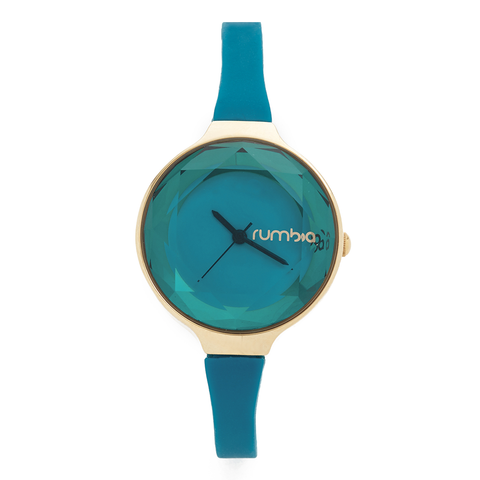 RumbaTime-Watches-Orchard Gem Watch - Teal