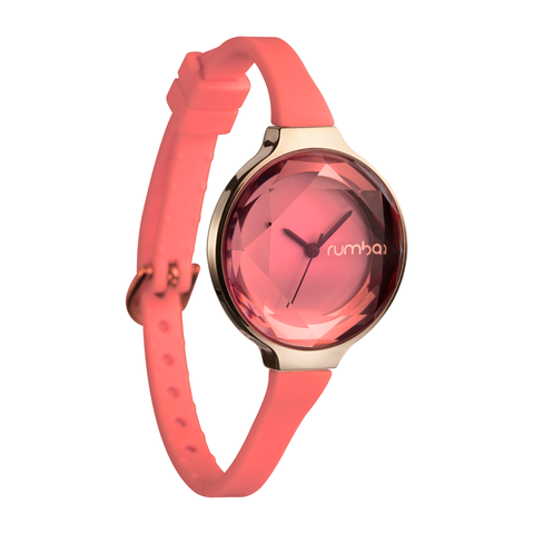 RumbaTime-Watches-Orchard Gem, Coral